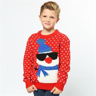 Kersttrui Kids.Kids Kersttrui Sneeuwpop Cs443 1x Rood Maat 7 8jaar Outlet