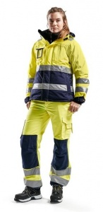 Dames Winterjas Blaklader High-Vis 4872