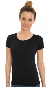 Dames T-shirt Nakedshirt Rolled Up Raglan 146.85