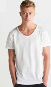 Heren T-shirt Mantis Raw Scoop 130.48