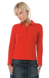 Polo Ladies LS BC Safran LSL Women