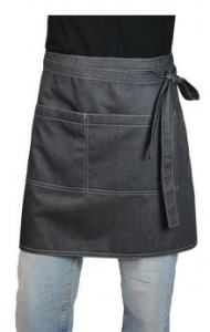 Sloof Chaud Devant Apron Black Denim