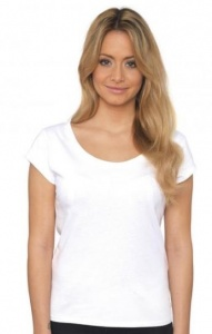 Dames T-shirt Nakedshirt Kapmouwtjes 159.85