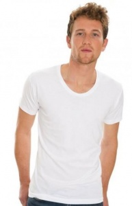 Heren T-shirt Nakedshirt Scoop neck 151.85