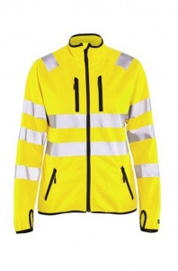 Dames Jas Blaklader Softshell Jack High Vis 4926