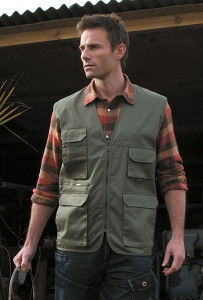 Herenvest Result Safari/Photographic Vest