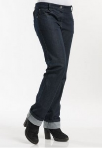 Dames koksbroek Chaud Devant Skinny blue denim