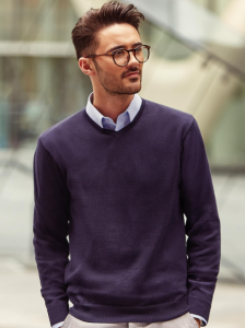 Russell Collection V-neck Sweater