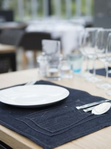 Placemat Chaud Devant Blue denim (2 stuks)