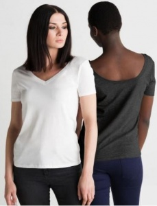 Dames T-shirt Mantis Scoop back 113.48