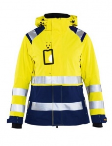 Dames Jas Blaklader Shell Jack High Vis 4904
