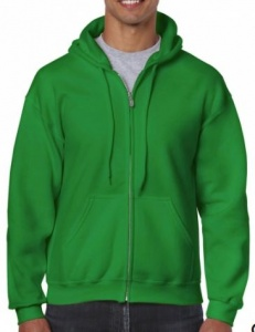 Sweater Gildan Full Zip Hooded 18600