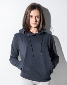 Dames Sweater Nakedshirt Hooded