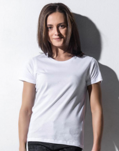 Dames T-shirt Nakedshirt Ronde hals