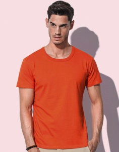 Heren T-Shirt Stedman Ben Crew Neck