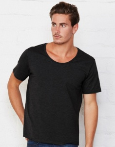Heren T-shirt Bella Wide Neck