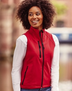 Dames fleecegilet Russell Softshell