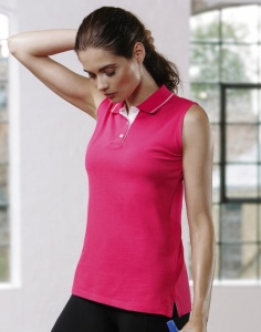 Dames Sport polo Gamegear Sleeveless