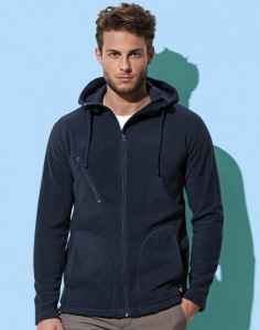 Heren fleecesweater Active Hooded