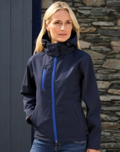 Dames Jas Result TX Performance Hooded Sofshell