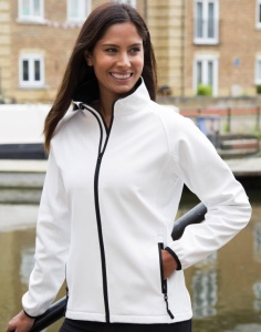 Dames Jas Result Printable Soft Shell Jacket