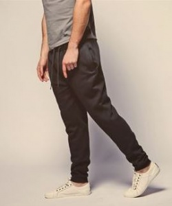 Heren Sweatpants Bravesoul Stein