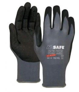 Handschoen M-Safe Nitri-Tech Foam 14-695