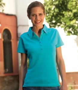 Dames Polo SF Fitness Modern Stretch Pique