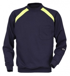 Vlamvertragende Sweater Fristads Kansas 100581