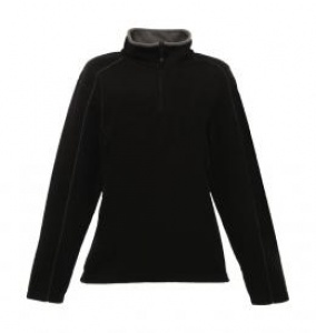 Dames Sweater Stand Out Ashville Half Zip Fleece