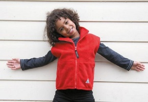 Kinder bodywarmer Result Kids Fleece