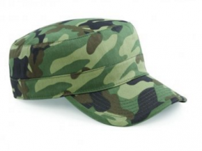 Pet Beechfield Camouflage Army Cap