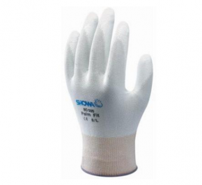 Handschoen Showa BO-500 Palm Fit Gloves wit
