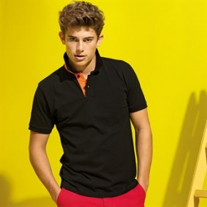 Heren Polo Asquith & Fox contrast classic fit