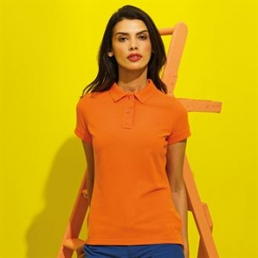 Dames Polo Asquith & Fox poly/cotton blend