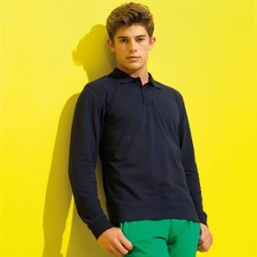 Heren Polo Asquith & Fox classic fit LS