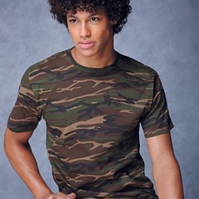 Shirt Anvil heavy Camouflage