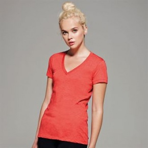 Dames shirt Bella V-hals triblend