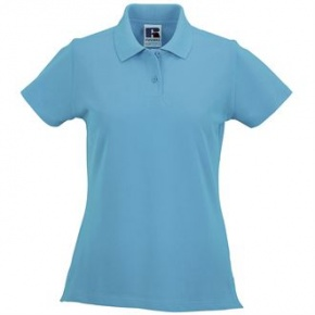 Dames Polo Russel Classic Cotton