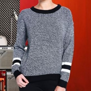 Dames Sweater Bravesoul Athletic Jumper