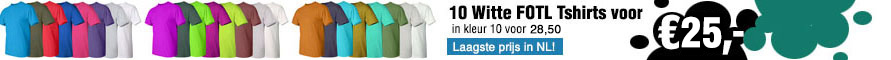 10 x Tshirts Fruit of the loom